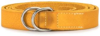 Guidi distressed D-ring belt