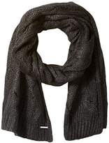 Nine West Women's Large Cable Scarf