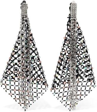 Ca&Lou Cressida Crystal Net Earrings