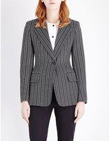 Sportmax Golfo single-breasted knitted jacket