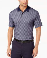 Tasso Elba Men's Supima Blend Geo-Print Polo, Created for Macy's