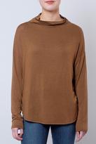 Lush Mock-Neck Knit Top