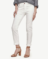 Ann Taylor Petite Relaxed Slim Denim Jeans