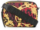 Versace baroque leopard-print crossbody bag