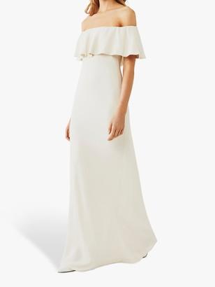Ghost Bellerose Off Shoulder Wedding Dress, Cloud Dancer