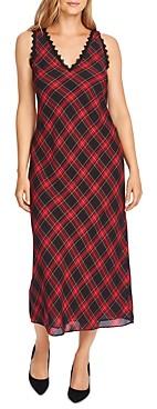 Vince Camuto Tartan Maxi Dress
