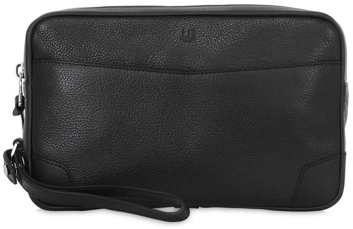 Dunhill Boston Pochette Leather Bag