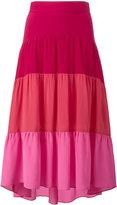 Peter Pilotto tiered asymmetrical skirt