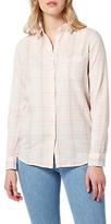 Lee One Pocket Check Shirt, Pale Pink