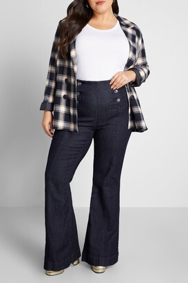 ModCloth Sailor Away Flare Jeans