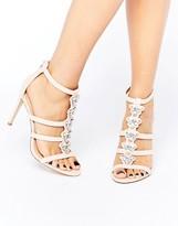 Aldo Leisi Jewel Front Heel Sandal