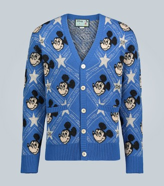 Gucci Disney x wool cardigan