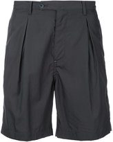 Factotum pleated shorts - men - Cotton/Lyocell - 44