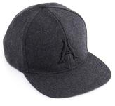 Arne Classic Grey A Logo Snapback Cap