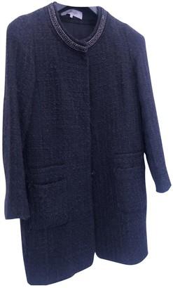 Gerard Darel Black Wool Coat for Women