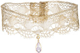 Cathy Waterman Women's Gemstones On Lace Choker