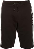 McQ by Alexander McQueen Stripe-print cotton-jersey shorts