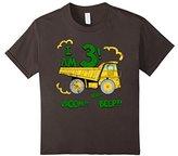 Kids 3rd Birthday Dump Truck T-Shirt. Boys 3 year Birthday Tee