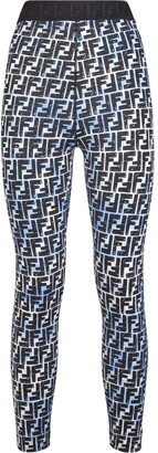 Fendi FF-print leggings
