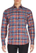 Robert Graham Classic-Fit Maccabe Cotton Sportshirt