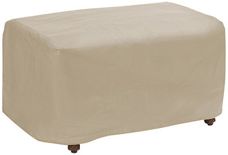 Protective Covers Small Ottoman Cover - Tan