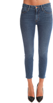 Mother + Candice Swanepoel High Waisted Looker Crop Jean