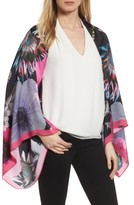 Ted Baker Women's Neon Poppy Silk Cape Scarf