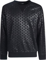 Balmain All-over Logo Printed Sweatshirt