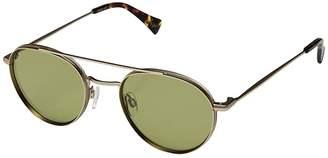 Raen Aliso (Gold/Safari Tortoise/Olive) Sport Sunglasses