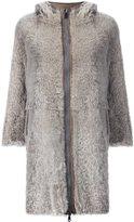 Brunello Cucinelli three-quarters zipped coat