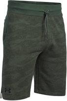 Under Armour Men's Camo Fleece Sweat Shorts