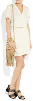 Etoile Isabel Marant Iga linen-blend wrap dress