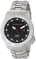 Momentum Men's 1M-DV74B0 Torpedo Analog Display Japanese Quartz Silver Watch