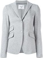 Dondup button up blazer - women - Polyester/Spandex/Elastane/Acetate/Polyacrylic - 46