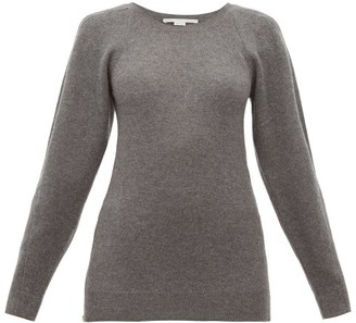 Stella McCartney Side Zip Wool Sweater - Womens - Dark Grey