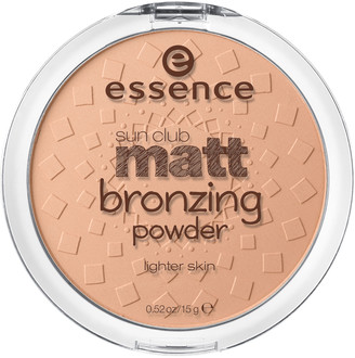 Essence Sun Club Matt Bronzing Powder 01 Natural 15G