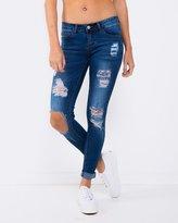 Tori Torn Jeans