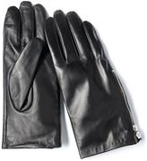 Vera Wang Simply vera leather gloves