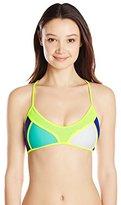 Body Glove Women's Borderline Alani Halter Bikini Top