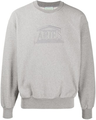 Aries Embroidered Logo Jumper