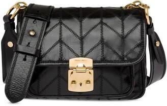 Miu Miu Stitch Detail Shoulder Bag