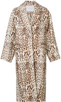 ADAM by Adam Lippes animal print coat