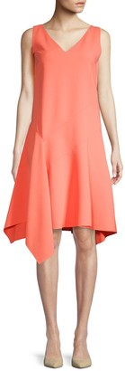 Lafayette 148 New York Sleeveless A-Line Dress