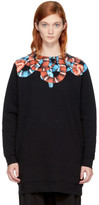 Marcelo Burlon County of Milan Black and Red Banmek Sweatshirt