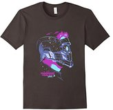 Marvel Star-Lord Guardians of Galaxy 2 Stars Graphic T-Shirt