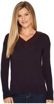 Smartwool Akamina Color Block V-Neck Sweater Women's Sweater