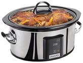 Crock Pot Crock-Pot® 6.5 Qt. Countdown Touchscreen Digital Slow Cooker - Stainless Steel SCVT650-PS-A