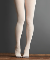 Parchment Love Sweater Tights