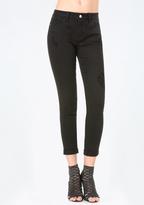Bebe Black Heartbreaker Jeans