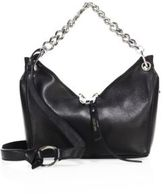 Jimmy Choo Raven Leather Chain Shoulder Bag
